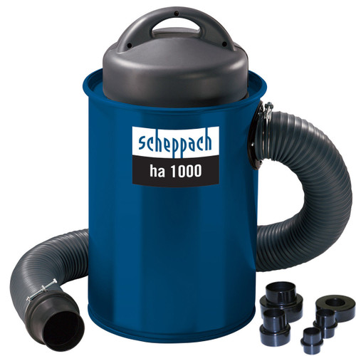 Buy Scheppach HA1000 Dust Extractor with Reducer Kit 240V at Toolstop