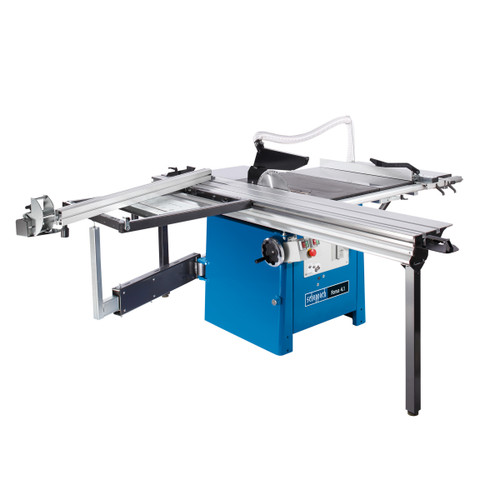 Scheppach FORSA 4.1-P1 2100mm Panel Sizing Table Saw with PRO Sliding Table Carriage, Table Width Extension & Under Scorer 415V - 2