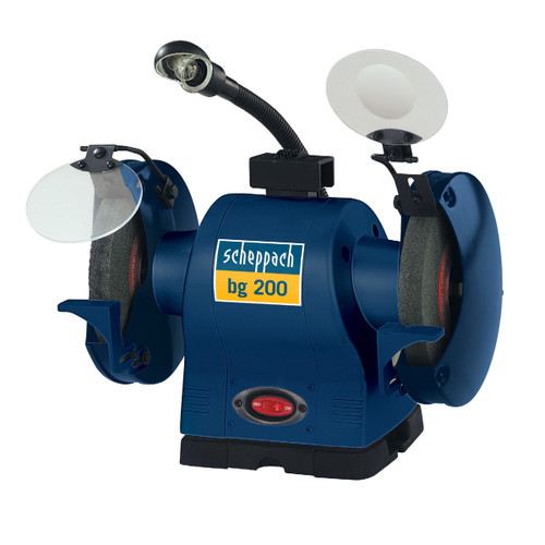 Buy Scheppach BG200 Bench Grinder 200mm 240V for GBP95.83 at Toolstop