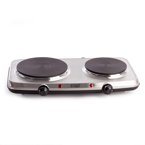 Russell Hobbs 15199 Stainless Steel Electric Mini Hob - 1