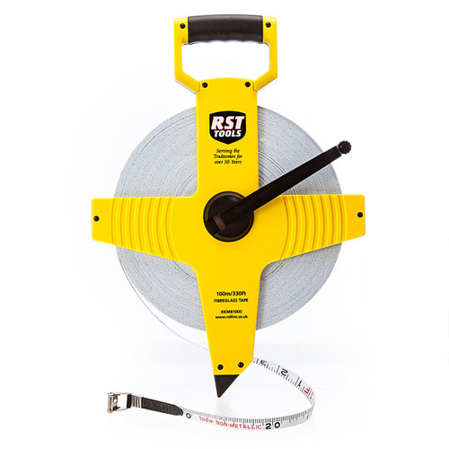 Buy RST RKM81000 Open Frame Tape Measure 100m / 330ft at Toolstop