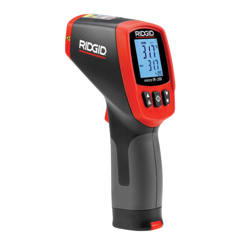 Ridgid 36798 Thermometer Non-Contact Infrared Micro IR-200 - 3