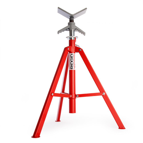 Ridgid 22168 VF-99 High Jack Folding Pipe Stand - 5