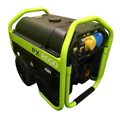 Pramac PX8000 Long Run Generator, Elec Start 110V/240V - 1