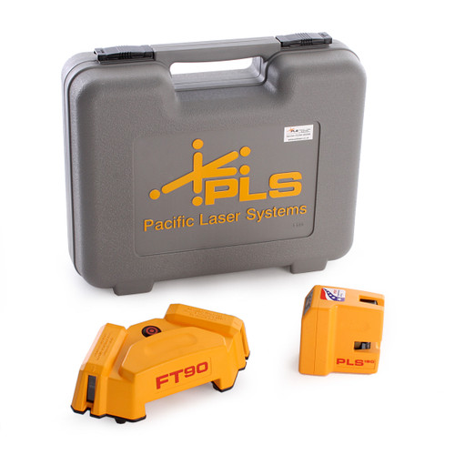 PLS PLS180 Self levelling laser + FT90 Tile square layout Combo Pack  - 2