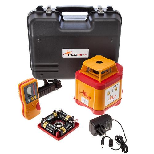 PLS HR 1000 System Horizontal Only Rotary Laser - 4