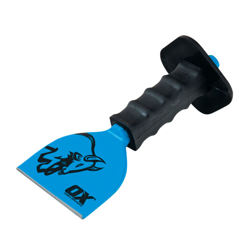 """Buy OX Brick Bolster With Guard - Trade Series 4"""" / 100mm (T090504) at Toolstop"""
