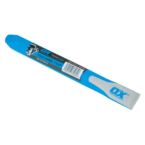 """Buy OX Cold Chisel - Trade Series 1"""" X 10"""" / 25mm X 250mm (T090110) at Toolstop"""