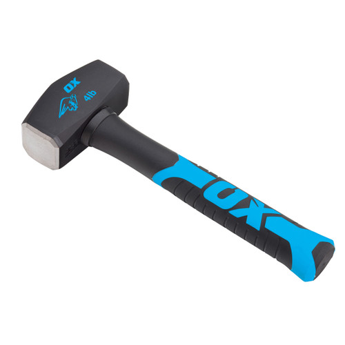 Buy OX T081304 Trade Series Club Hammer with Fibreglass Handle 4lb  at Toolstop