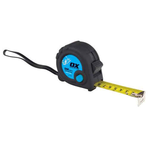 Buy OX Tape T020608 Metric/Imperial Trade Series Measure 8m / 26ft at Toolstop