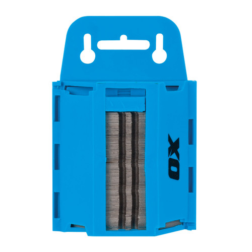 Buy OX Heavy Duty Knife Blades & Dispenser - Pro Series (100 Pack) (P222210) at Toolstop