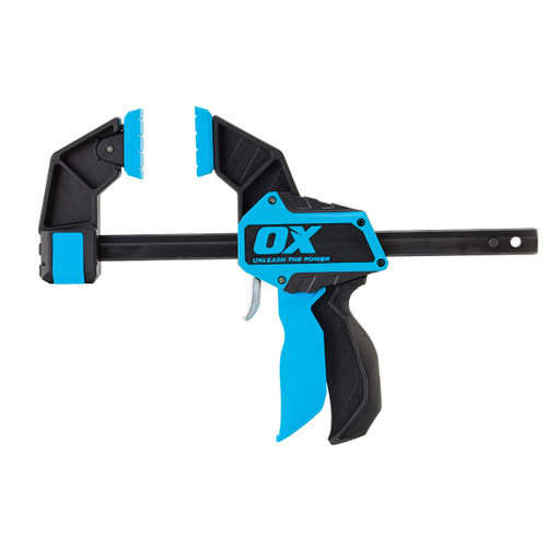 OX P201212 Pro Series Heavy Duty Bar Clamp 12in / 300mm  - 1