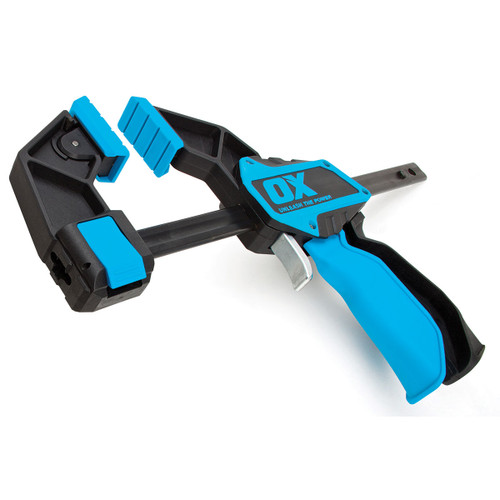 OX P201206 Pro Series Heavy Duty Bar Clamp 6in / 150mm  - 1