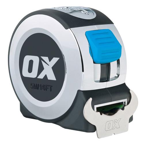 OX P020908 Metric/Imperial Pro Series Tape Measure 8m / 26ft   - 1