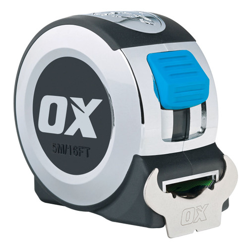 OX P020905 Metric/Imperial Pro Series Tape Measure 5m / 16ft  - 1