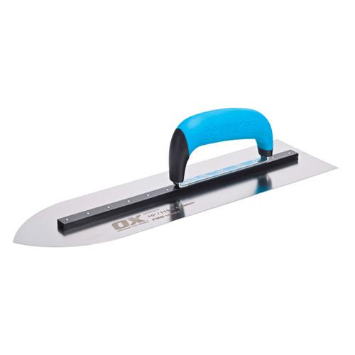 """Buy OX Pointed Flooring Trowel Pro Series 16"""" (P018716) at Toolstop"""