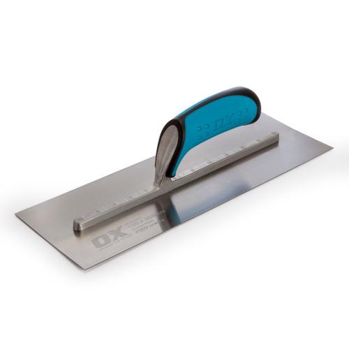 OX Plasterers Trowel Pro Series - Carbon Steel 120 X 356mm (P010914) - 2