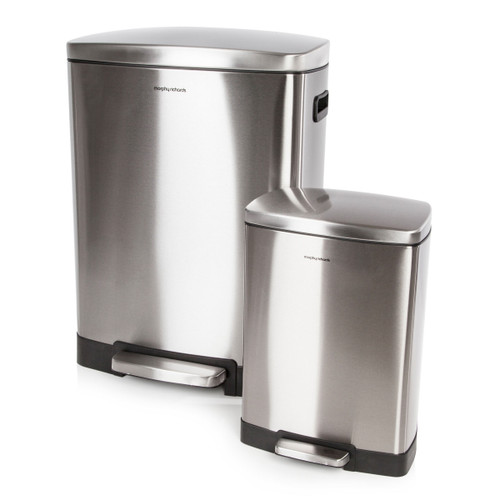 Morphy Richards 977100 Pro 50 Litre and 12 Litre Rectangular Bins - 5