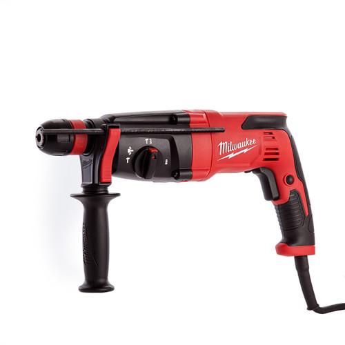 Milwaukee PH27X SDS 3 Mode Hammer Drill 110V - 4