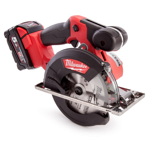 Milwaukee M18FMCS-502X M18 Fuel Metal Saw (2 x 5.0Ah Batteries) - 9