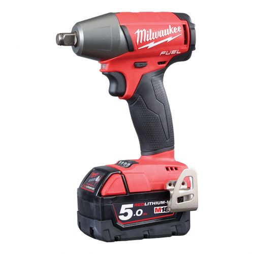 Milwaukee M18FIW12-502X M18 FUEL Impact Wrench with Friction Ring 1/2in Drive (2 x 5.0Ah Batteries) - 7