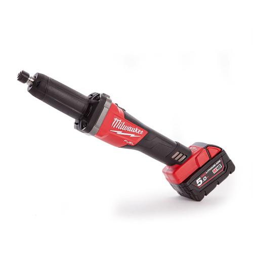 Milwaukee 4933459108 M18FDG-502X Fuel Die Grinder (2 x 5.0Ah Batteries) - 3