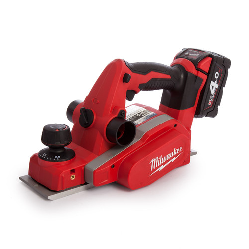 Milwaukee M18 BP Planer Charger and Case (2 x 4.0Ah Batteries) - 4