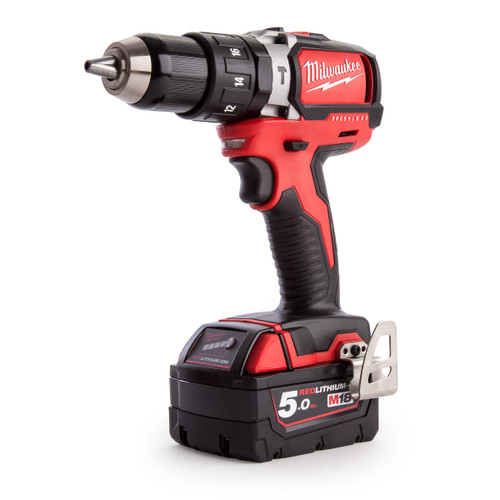 Milwaukee M18BLPD-503C M18 Brushless Percussion Drill (3 x 5.0Ah Batteries) - 7