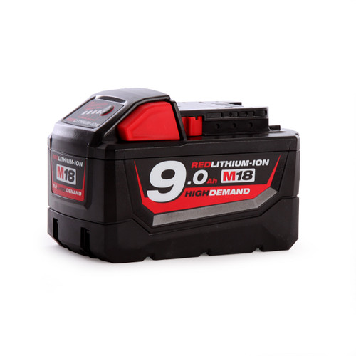 Milwaukee M18B9 18V 9.0Ah Red Lithium-Ion Battery  - 2