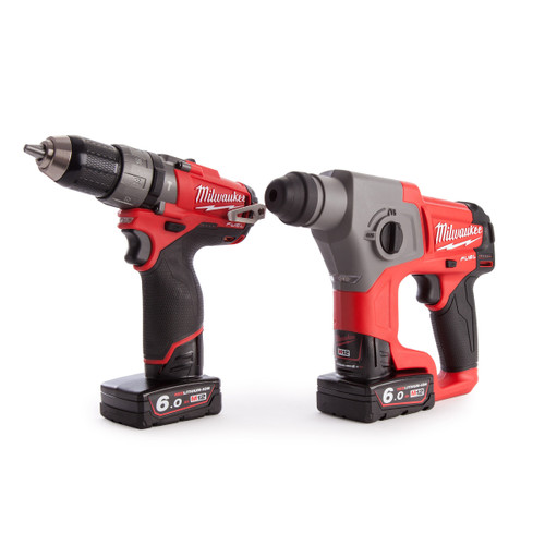 Milwaukee M12CPP2B-602X 12V M12 Fuel Thunderbolt Kit - 4