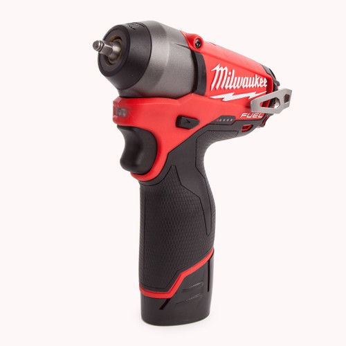 Milwaukee M12CIW14-202C M12 Fuel Compact Impact Wrench 1/4in Reception (2 x 2.0Ah Batteries) - 5