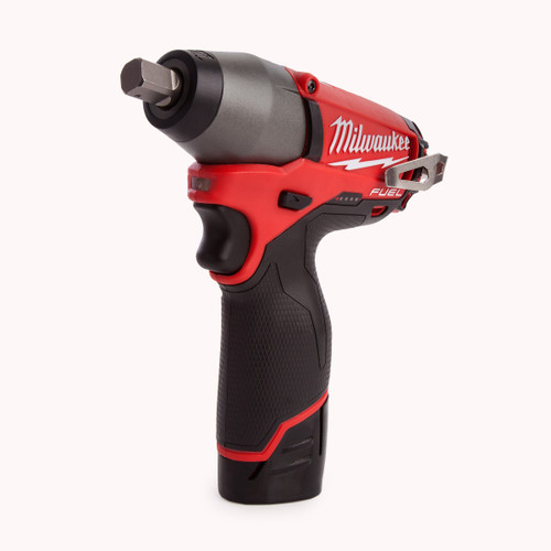 Milwaukee M12CIW12-202C M12 Fuel Compact Impact Wrench 1/2in Reception (2 x 2.0Ah Batteries) - 5