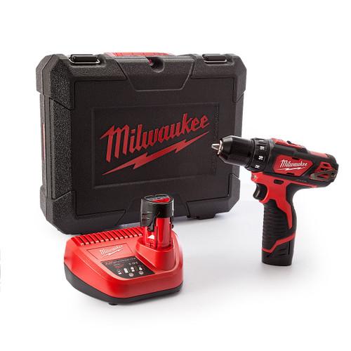 Milwaukee M12BDD 12V Cordless Drill Driver (2 x 1.5Ah Batteries) - 7