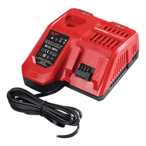 Milwaukee M12-18FC Rapid Fast Charger - 1