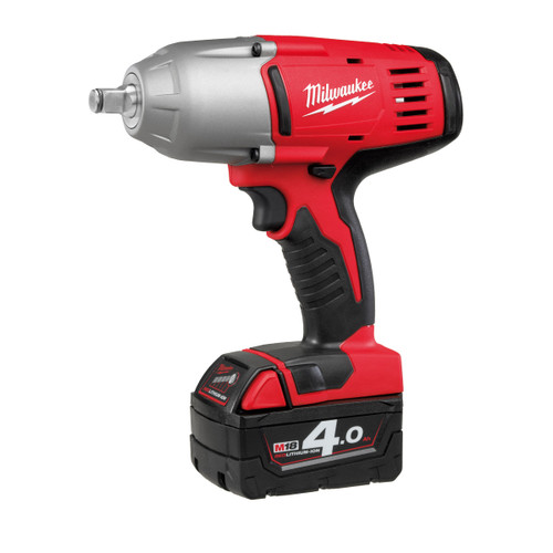 Milwaukee HD18HIWF-402C M18 Impact Wrench with Friction Ring 1/2in Drive (2 x 4.0Ah Batteries) - 6