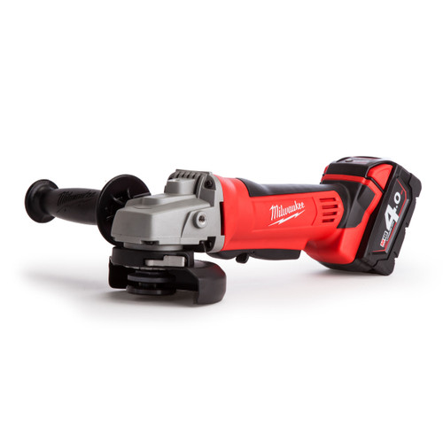 Milwaukee M18 HD18 Angle Grinder 115mm (2 x 4.0Ah Batteries) - 5