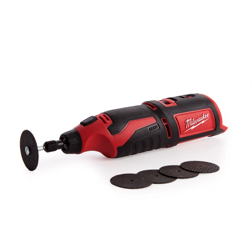 Milwaukee C12RT-0 M12 Compact Rotary Tool (Body Only) - 4