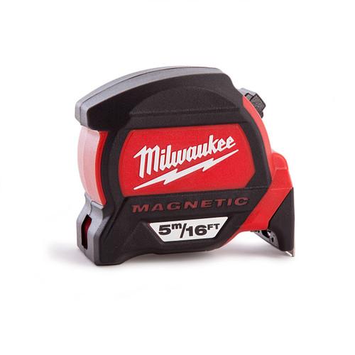 Milwaukee 4932459374 Premium Magnetic Tape Measure 5m / 16ft - 2