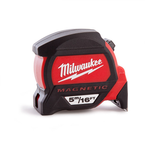 Milwaukee 4932459374 Premium Magnetic Tape Measure 5m / 16ft - 2