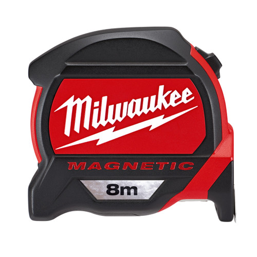 Milwaukee 48227308 Metric Premium Mag Tape Measure 8m  - 4