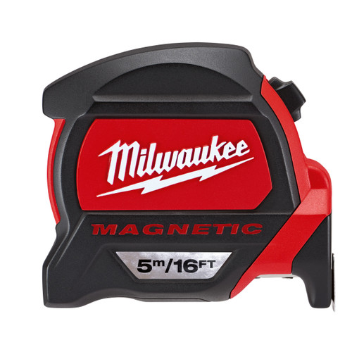 Milwaukee 48227216 Metric/Imperial Premium Mag Tape Measure 5m / 16ft - 2