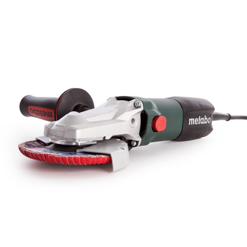 Metabo WEF 9-125 Quick Flat-Head Angle Grinder 125mm 110V - 2