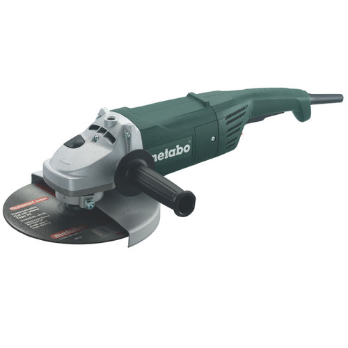 "Metabo W2000-230 9"" Angle Grinder with Dead Mans Paddle 240V - 2"