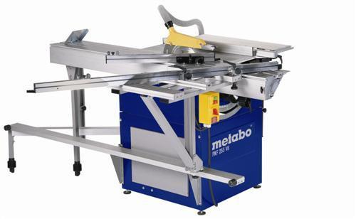 Buy Metabo PKF255 V8 Prec. Panel Saw Pack 240V inc Base Unit,Traversing Saddle 1.8 m,Long Support Rail,Base Carrier System,Side ext at Toolstop