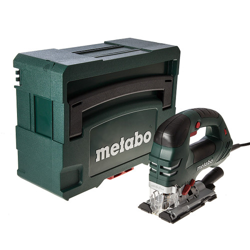Buy Metabo STEB 140 Plus Orbital Jigsaw 750W Bow Handle + MetaLoc II Carry Case 110V at Toolstop