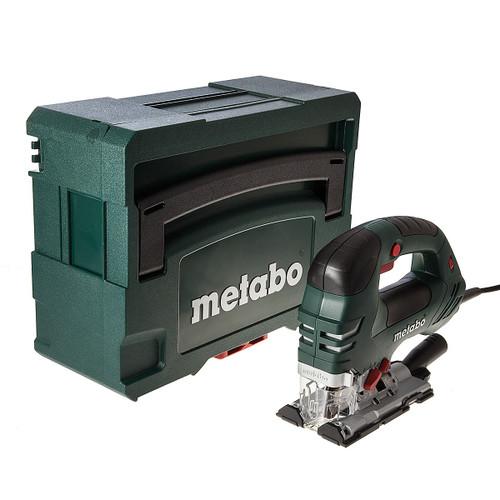 Buy Metabo STEB 140 Plus Orbital Jigsaw 750W Bow Handle + MetaLoc II Carry Case 110V at Toolstop