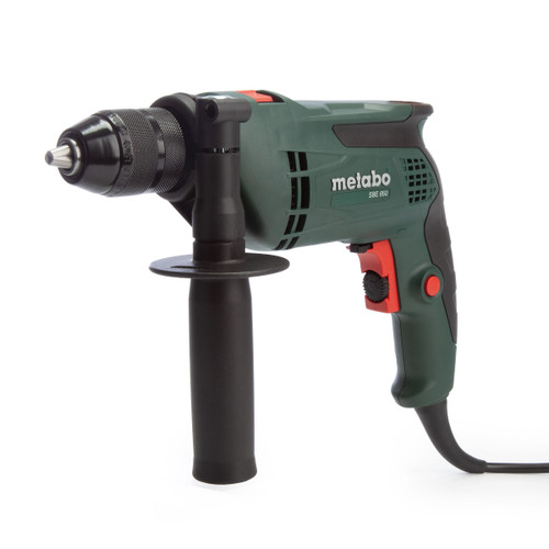 Metabo SBE650 Impact Drill 650W in Carry Case 240V