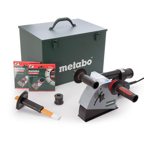 Metabo MFE30 1400W Wall Chaser with 2 x Diamond Blades 110V - 7