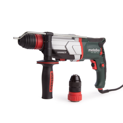 Metabo KHE2660 Quick SDS+ Combi Hammer Drill with Quick Change Chuck 110V - 7