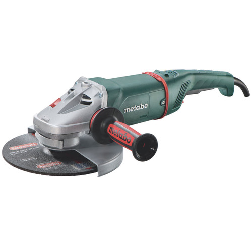 "Buy Metabo W22-230 230mm (9"") Low Vibration Angle Grinder - with Dead Mans Paddle Switch 240V at Toolstop"